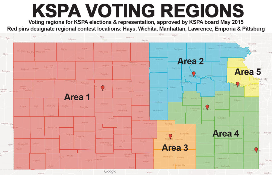 KSPA regional map voting