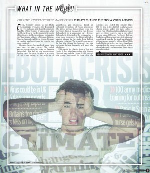 News Publication Design 1st-1