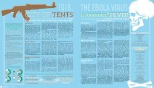 News Publication Design 1st-3