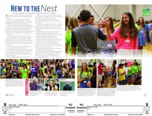 Yearbook Spread Design 2nd