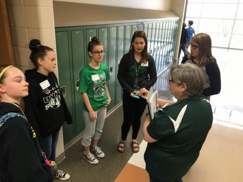Middle School workshop gives students a jumpstart