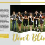 1A_2A Yearbook Theme _ Graphics 1st Place Morgan Mauk Aricah McCall Of Humboldt High School 2