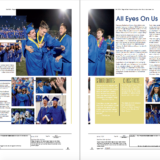 3A 4A Yearbook Layout Third Place Alyvia Owens Of Buhler High School