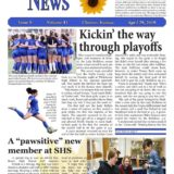 3A_4A News Page Design Hon Men Elizabeth Rogers Of Caney Valley High School