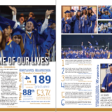3A_4A Yearbook Layout First Place Breuana Duval Of Chanute High School