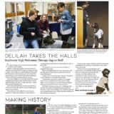5A_6A News Page Design 3rd Place Kaete Schmidt Of Newton High School