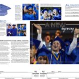 5A_6A Yearbook Layout 3rd Place Sarah Lee Of Blue Valley Southwest High School