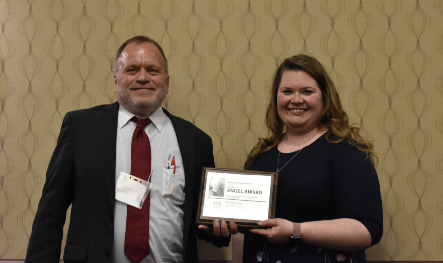 Michelle Huss of Blue Valley earns Jackie Engel Award 2019